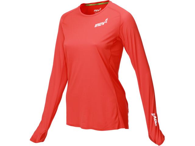 inov-8 Base Elite LS Shirt Women red